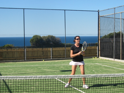 private tennis lessons at home