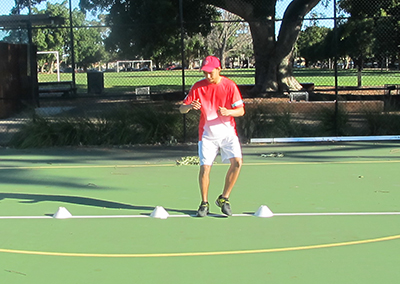 Private tennis lessons with Stephen Day